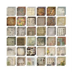 TH93111 Tim Holtz® Idea-ology™ | Paperie Collage Mini Stash 8